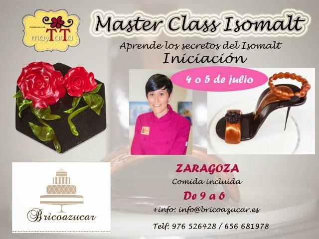 Master Class de Isomalt en Bricoazucar