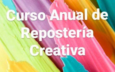 Curso Anual de Repostería Creativa organizado por Bricoazucar