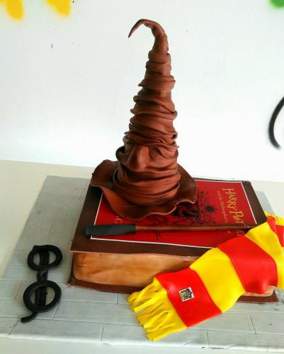 Tarta Harry Potter