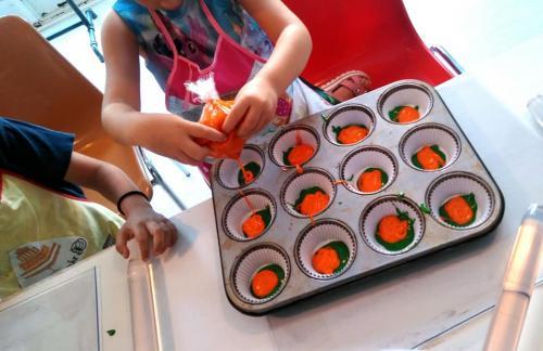 Taller repostería cupcakes niños